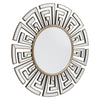 White Bubble Table Mirror