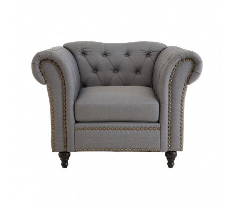 Cooper Grey Armchair