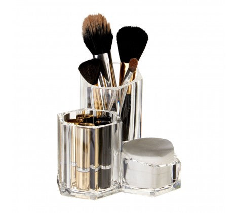 3 Compartment Cosmetic Organiser