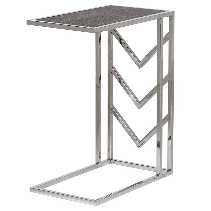 Arrow Framed Side Table