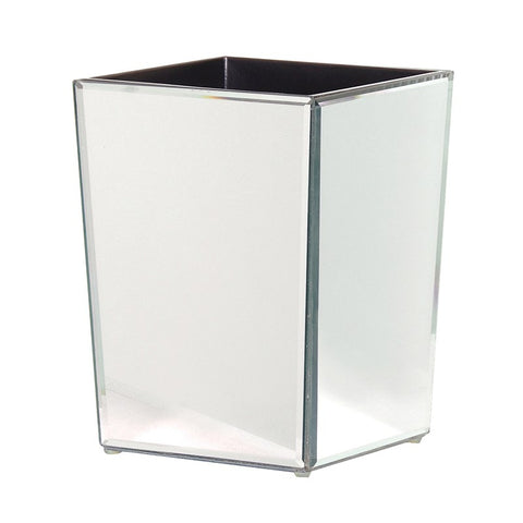Mirrored Waste Bin