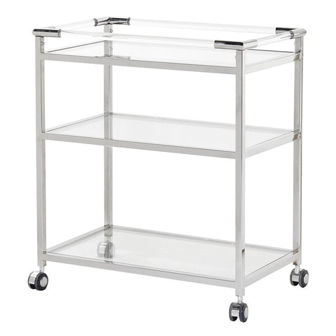 Stainless Steel Drinks Trolley
