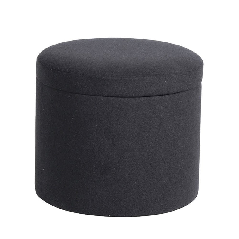 Charcoal Storage Footstool