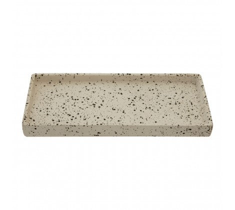Freckled Concrete Tray