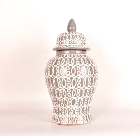 Ceramic Urn With Lid