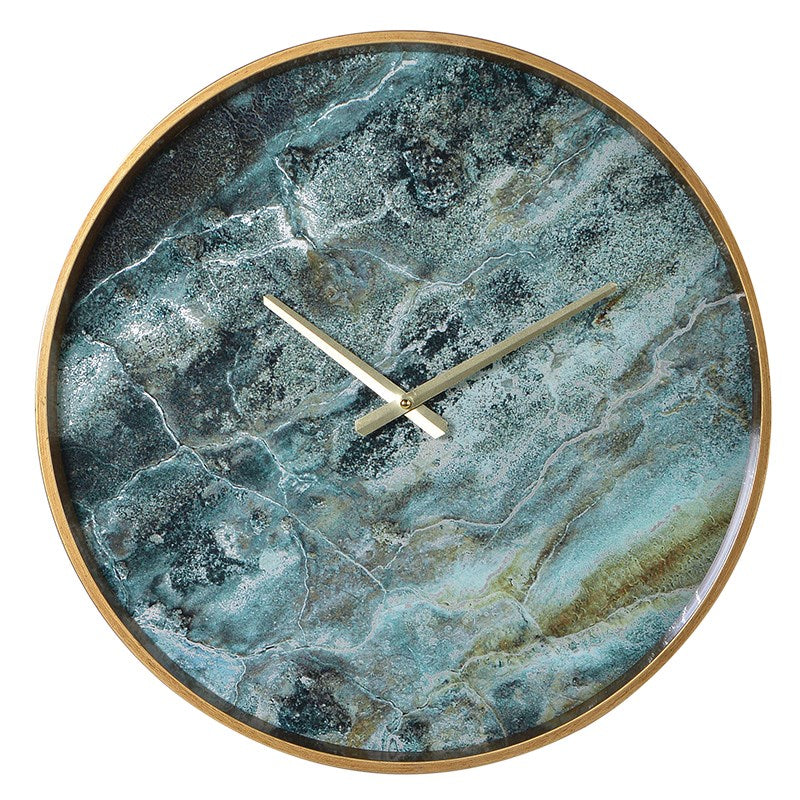 Amadeus Marble Effect Wall Clock