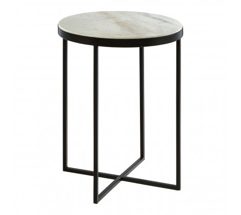 Giles Marble Side Tables