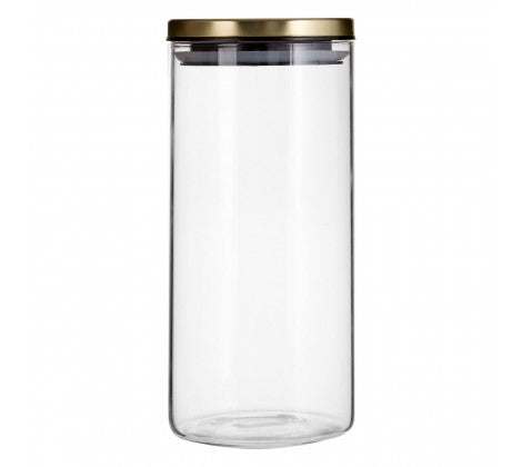 Gold Seville 1300ml Storage Jar
