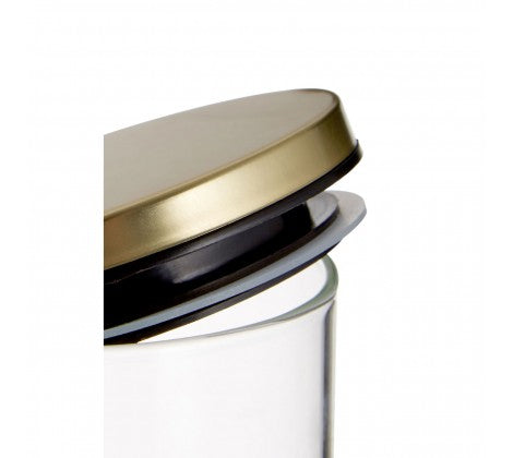 Gold Seville 700ml Storage Jar