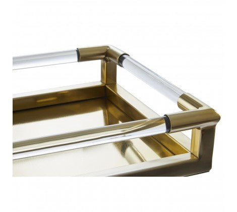 Gold Acrylic Tray