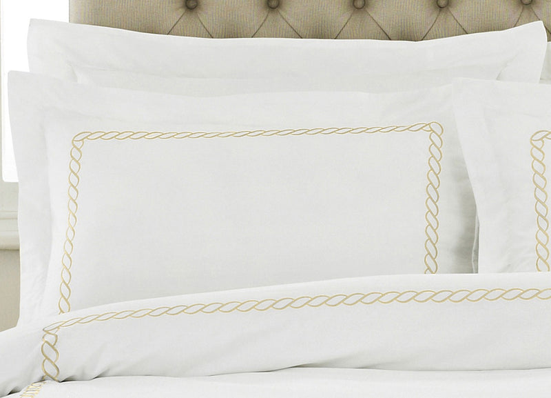 Gold Rope Pillowcase