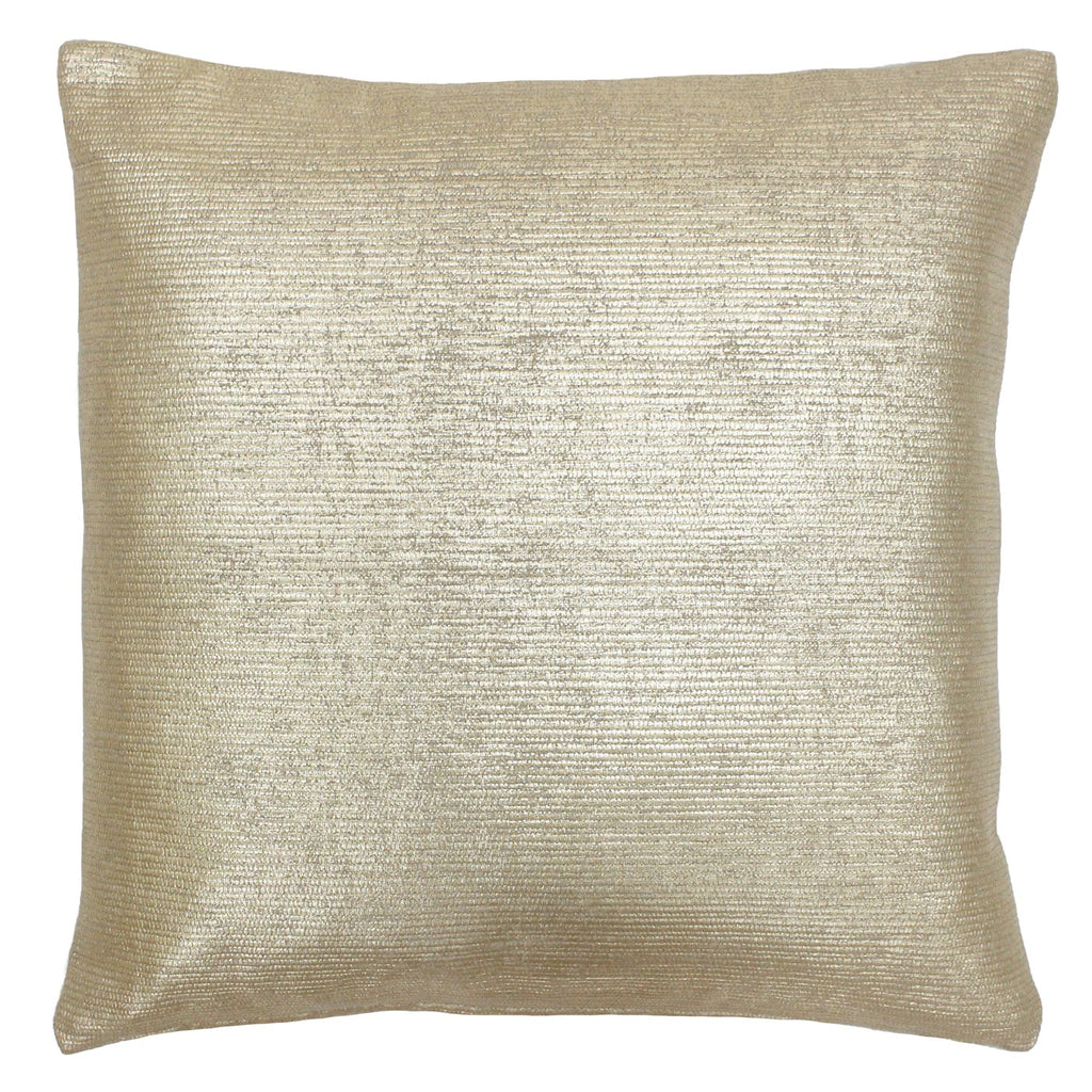 Gold Cotton Cushion Cover