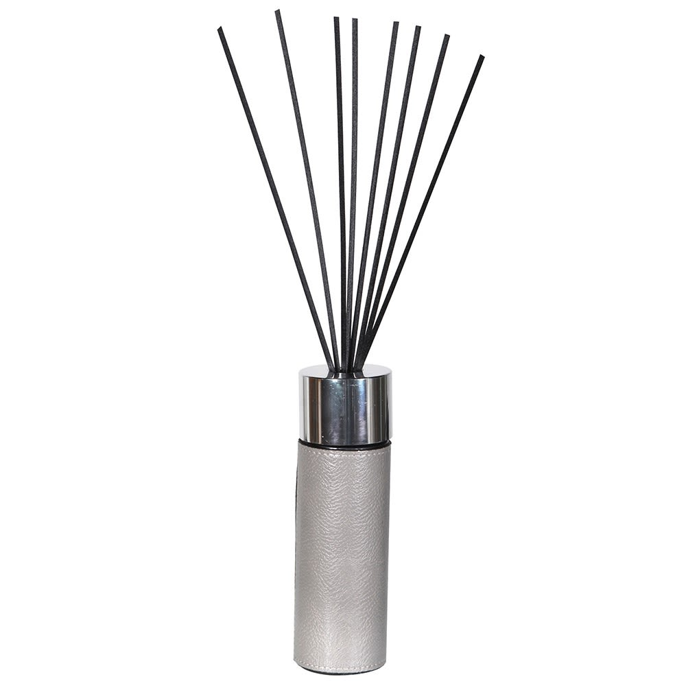 Grey Leather Reed Diffuser