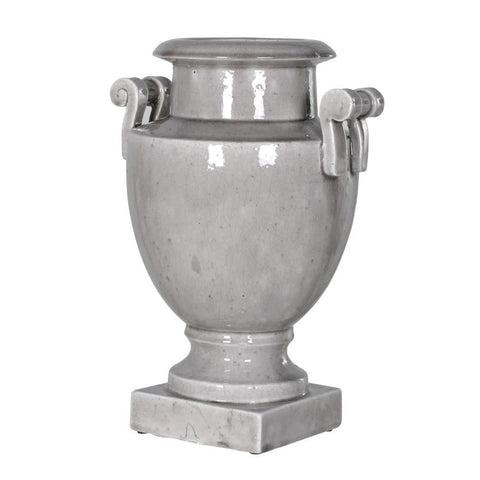 Low Twisted Handle Urn