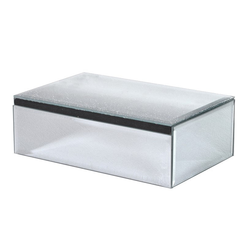 Glass Rectangular Jewellery Box