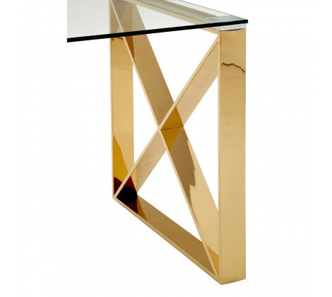 Horizon Gold End Table