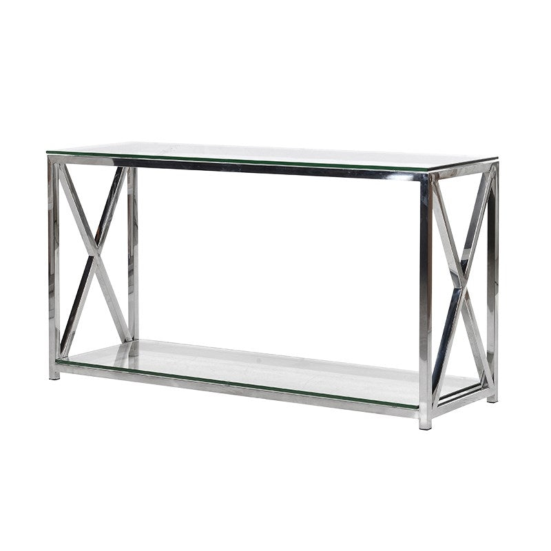 Cross End Console Table