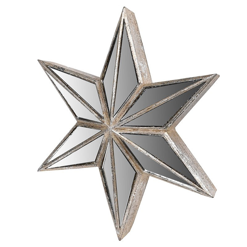 Mirrored Star Wall Decoration