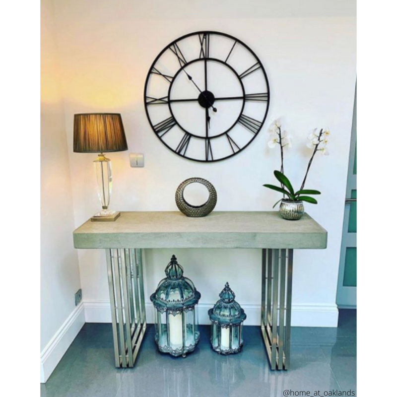 Concrete Console Table