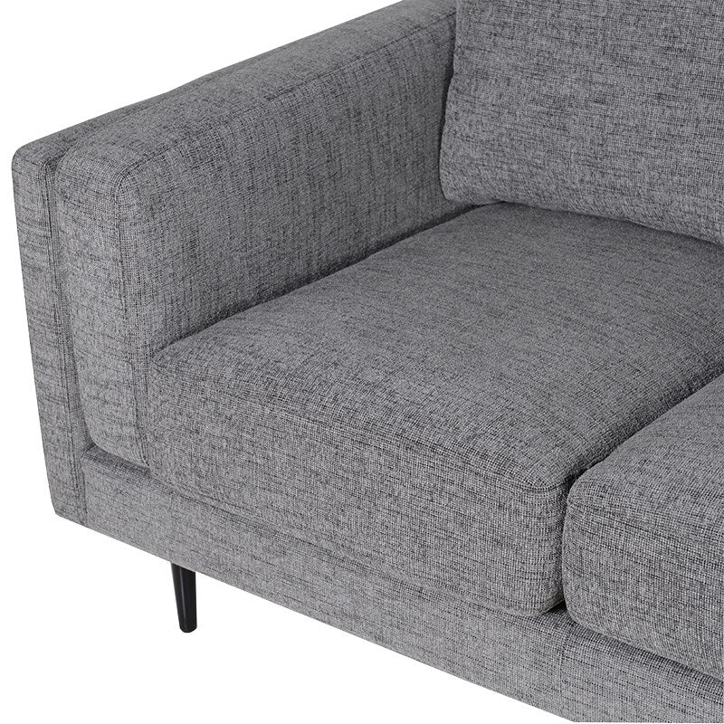 Grey Moderna 2 Seater Sofa