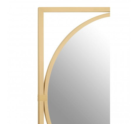 Lilly Gold Wall Mirror