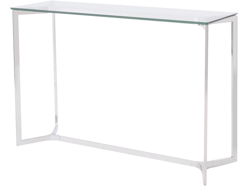 Linton Glass Console Table