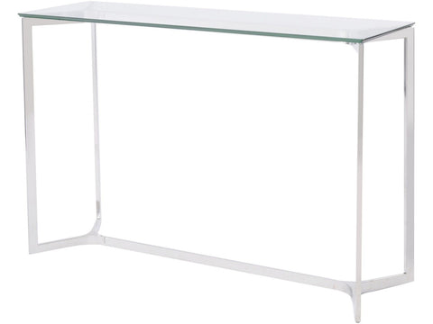 White High Gloss Hall Table