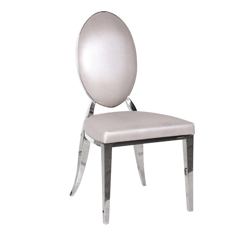Krystal Oval Back Dining Chair