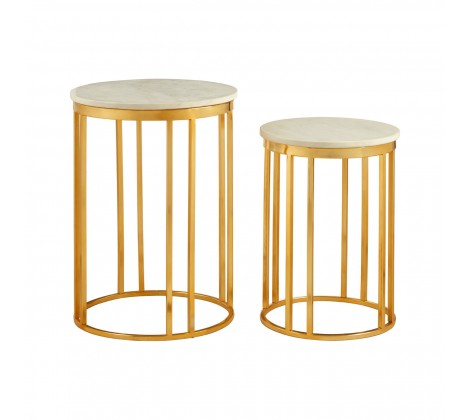 Luther Set of 2 Side Tables