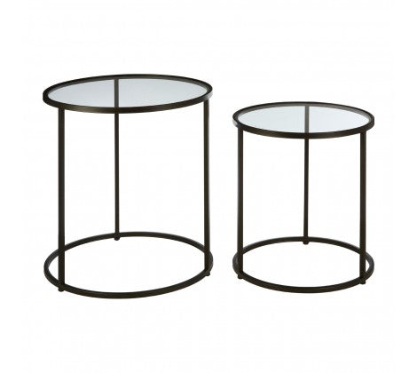 Luxe Black Side Tables