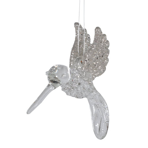 Glitter Clip On Humming Bird