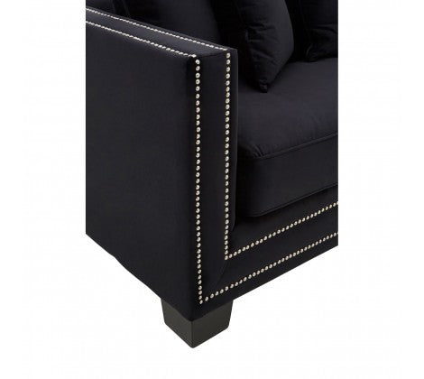 Manhattan Black Sofa
