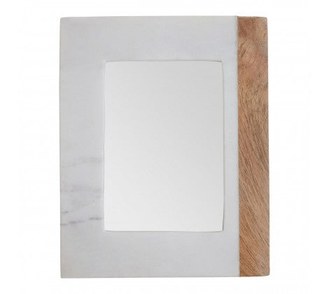 Marble and Mango Wood Photo Frame