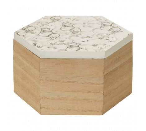Marble Bubble Trinket Box