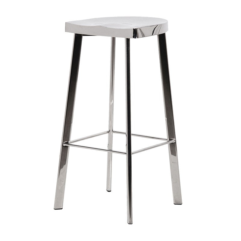 Tall Chrome Bar Stool