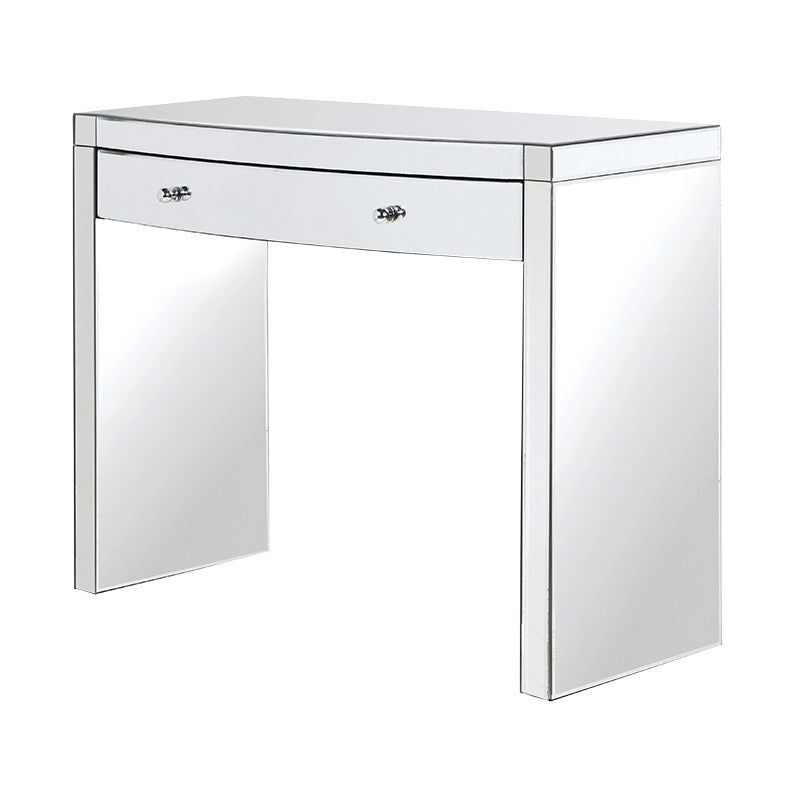 Curved Mirrored Dressing Table