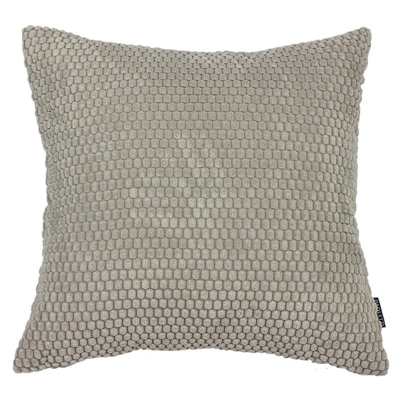 Dove Grey Comb Cushion Cover