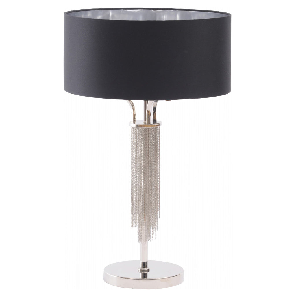 Langan Table Lamp With Black Shade