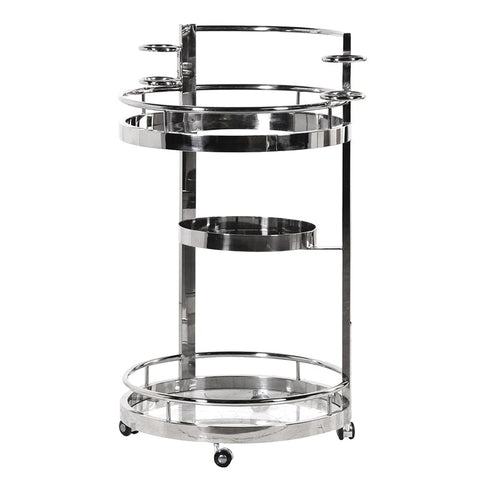 Round Drinks Trolley