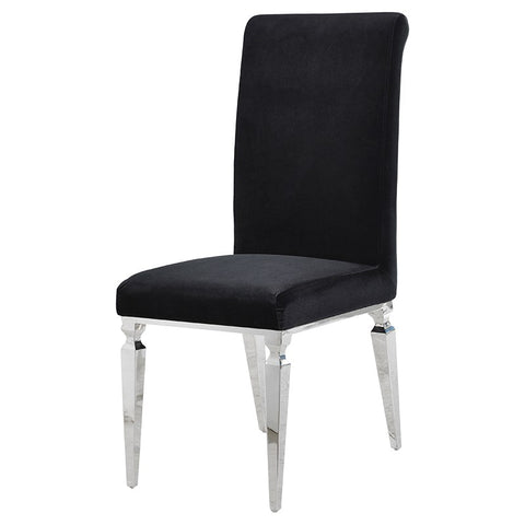 Light Grey Lion Back Dining Chair