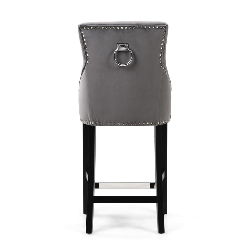 Cadell Grey Bar Stool