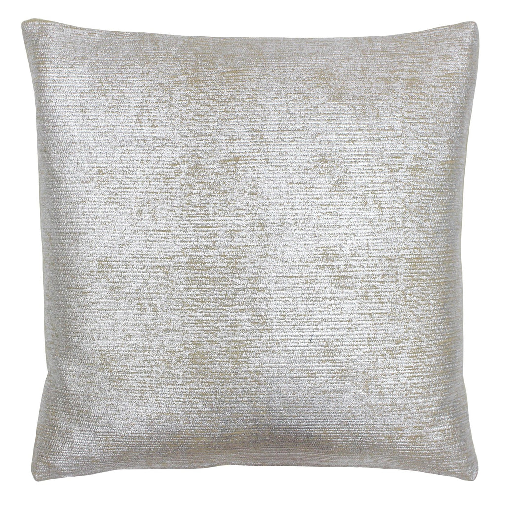 Silver Cotton Cushion Cover
