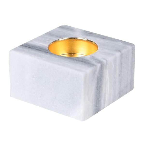 Marble Block Candle Holder