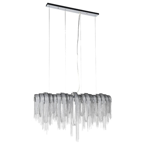 Beaded Funnel Chandelier