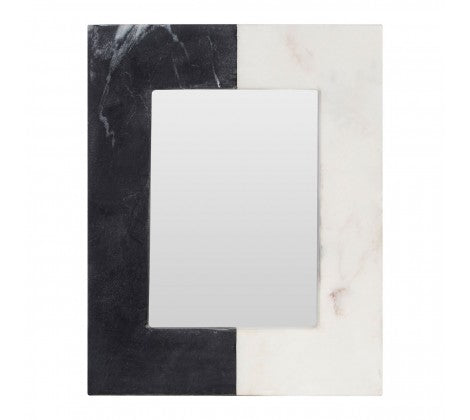 Two-Tone Marble Photo Frame
