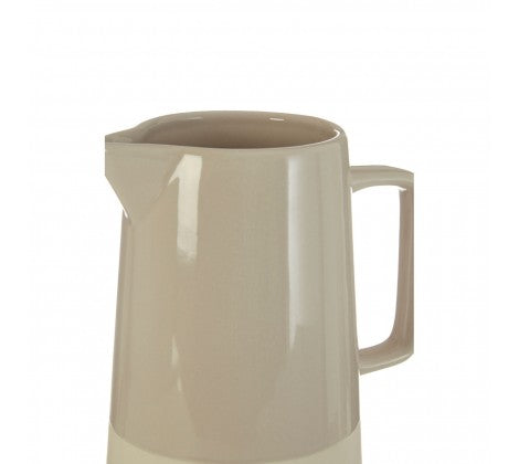 Grey and White Water Jug