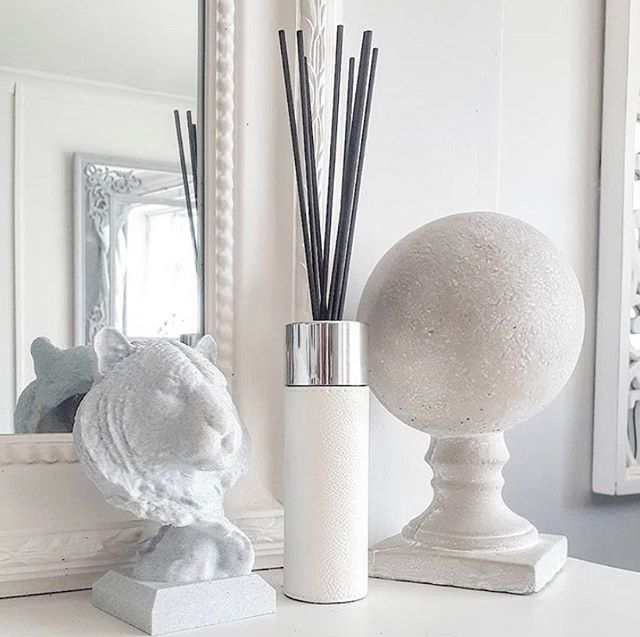 White Leather Reed Diffuser
