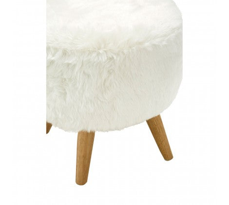 Whitney Fur Stool