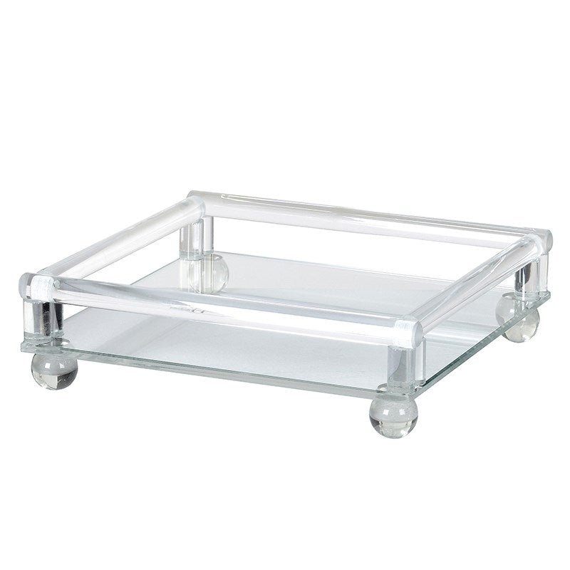 Small Square Glass Tray