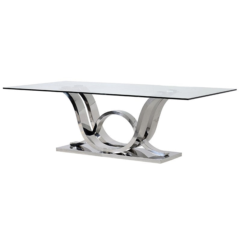 Silver Wave Dining Table